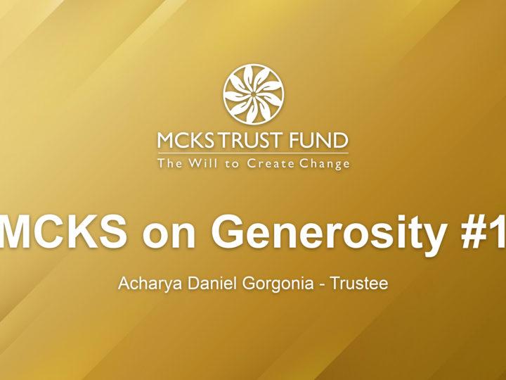 MCKS on Generosity 01