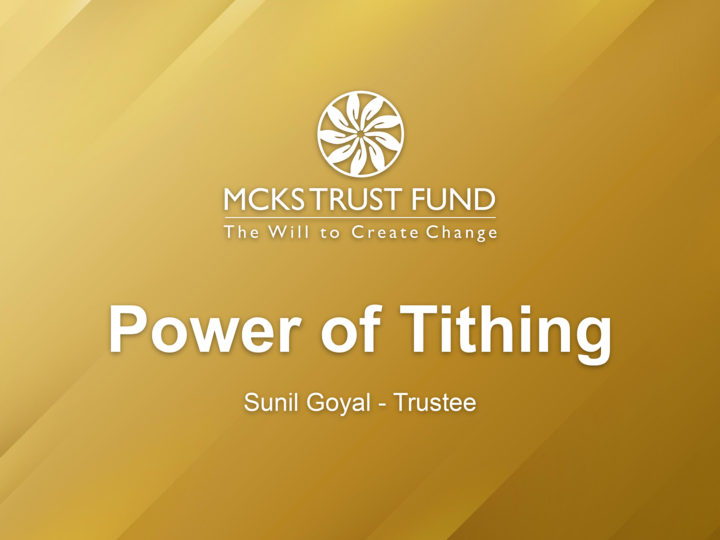 Power of Tithing