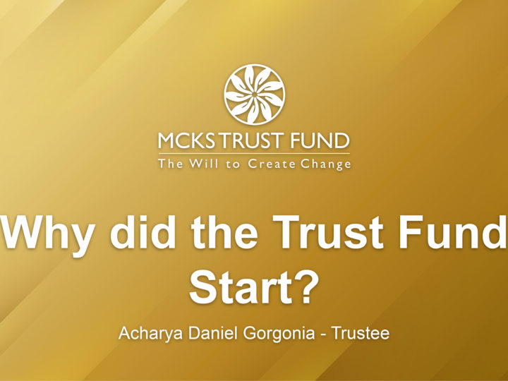 Why Did Trust Fund Start?